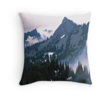 WINTER STORM Throw Pillow