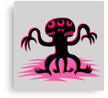Pink Mutant Canvas Print