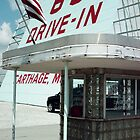 66 Drive-In Cartage Missouri by Paul Butler
