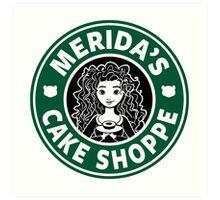 Merida's Cake Shoppe Art Print