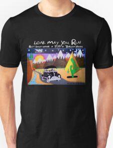 The Long Decline RDU 2015 - WHITE text T-Shirt
