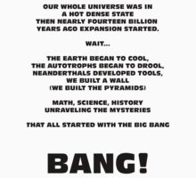 It All Started With The Big Bang! by stephen barber