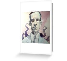 LOVECRAFT Greeting Card