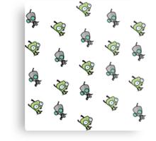 Checkered Gir pattern [Diagonal] Metal Print