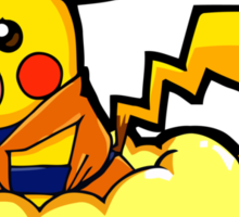 Pikagoku Sticker