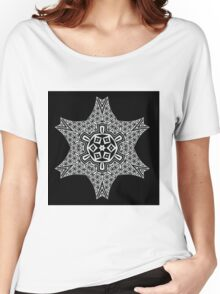 Flower of life geometric design Women's Relaxed Fit T-Shirt