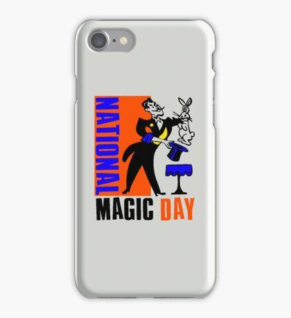 NATIONAL MAGIC DAY iPhone Case/Skin