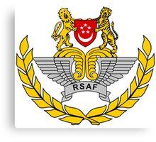 Singapore Air Force Crest Canvas Print