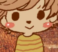 Button Louis - Fox Sticker