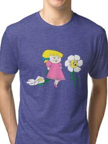 Pretty Pretty Flower Tri-blend T-Shirt