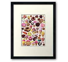 Lollies Framed Print
