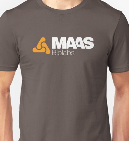 MAAS Biolabs Corporate Logo - White Unisex T-Shirt