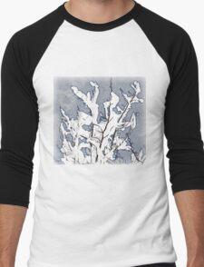 Tree in Winter Men's Baseball ¾ T-Shirt