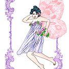 Colourful Victorian Faerie by redqueenself