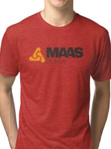 MAAS Biolabs Corporate Logo TShirt White Tri-blend T-Shirt