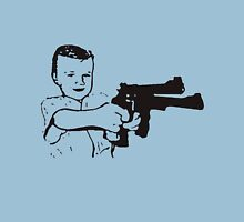 Boy With Gun Unisex T-Shirt
