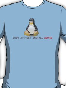 Linux - Get Install Coffee T-Shirt