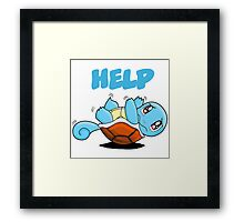 Squirtle Framed Print