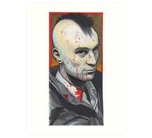 travis bickle portrait. Art Print
