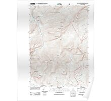 Maine USGS Historical Map Speckled Mountain 20120118 TM Poster