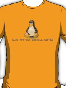 Linux - Get Install Coffee. T-Shirt
