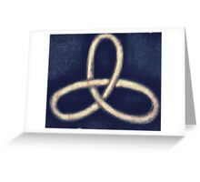 Triskele Knot Greeting Card