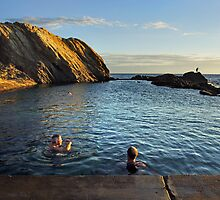 Bermagui Blue Pool by Darren Stones