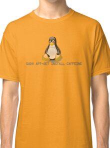 Linux - Get Install Caffeine Classic T-Shirt