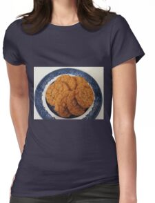 Oat Flake and Honey Crunchy Biscuits Womens Fitted T-Shirt