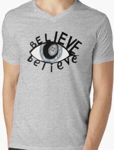 Eye Believe In You Mens V-Neck T-Shirt