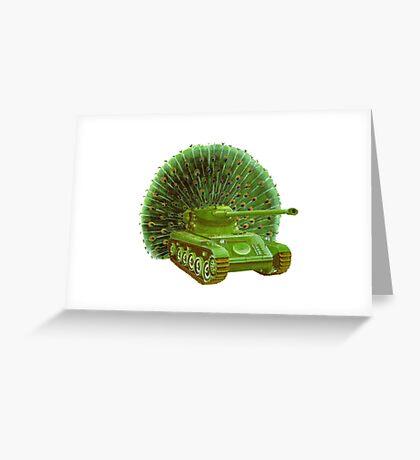M Blackwell - PeaTank... Greeting Card