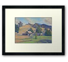 Copeland Tops Cottage - NSW Framed Print