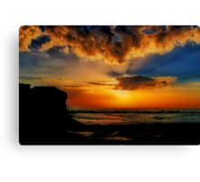 """Jan Juc Sunrise"" Canvas Print"