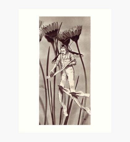 M Blackwell - The Harvester... Art Print