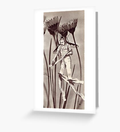 M Blackwell - The Harvester... Greeting Card