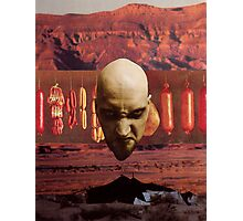 M Blackwell - Angry God of Desert Smallgoods... Photographic Print