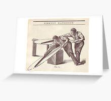 M Blackwell - Figure 1... Greeting Card
