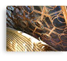 Mattress Springs Metal Print