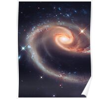 Spiral Galaxy | The Universe by Sir Douglas Fresh Poster