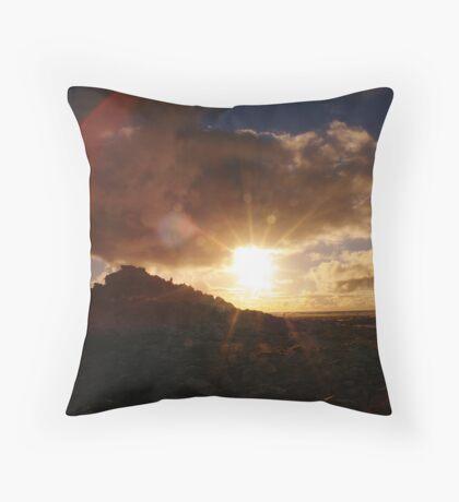 Lens Flare Throw Pillow