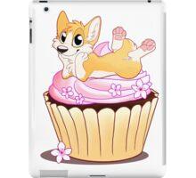 Corgi on a Cupcake iPad Case/Skin
