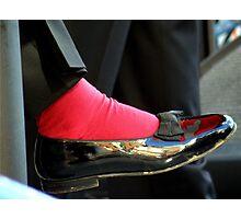 Sammy Davis Shoe Photographic Print