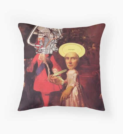 M Blackwell - Electromagnetic Halo... Throw Pillow