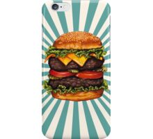 Double Cheeseburger iPhone Case/Skin