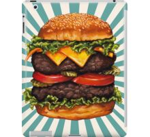 Double Cheeseburger iPad Case/Skin