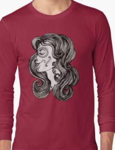 Sugar Skull Sweetheart II Long Sleeve T-Shirt