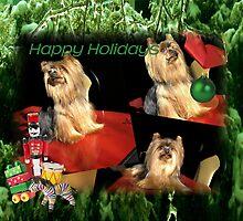 HAPPY HOLIDAYS by Carole Boudreau