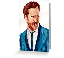 Chris O'Dowd - The Sapphires Greeting Card