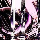 Pipes Abstract Digital 01 by fantasytripp