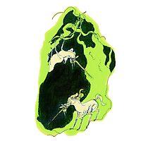 poisonous unicorns Photographic Print